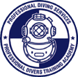Professional Diving Services Logo