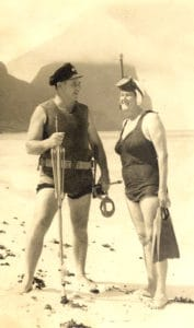 Dick & Ruth Charles at Lord Howe Island