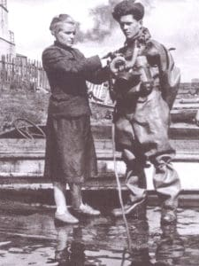 Female Russian Diving Instructor